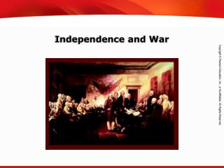 Independence and War