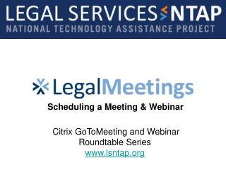 Citrix GoToMeeting and Webinar Roundtable Series  lsntap
