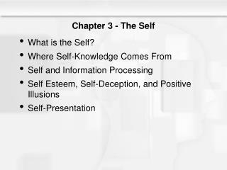 Chapter 3 - The Self