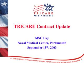 TRICARE Contract Update