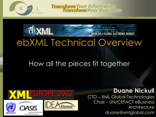 ebXML Technical Overview