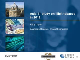 Asia 11 study on illicit tobacco in 2012