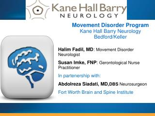 Halim Fadil, MD :  Movement Disorder Neurologist