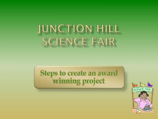 Junction Hill Science Fair