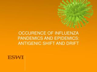 OCCURENCE OF INFLUENZA PANDEMICS AND EPIDEMICS: ANTIGENIC SHIFT AND DRIFT