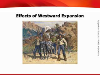Effects of Westward Expansion