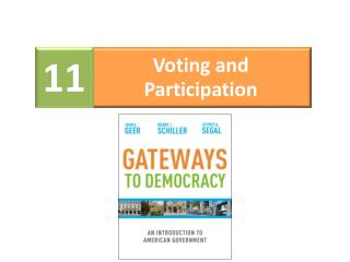 Voting and Participation