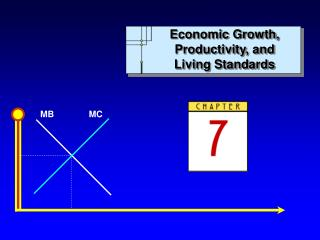 Economic Growth, Productivity, and Living Standards