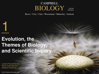 Evolution, the  Themes of Biology, and Scientific Inquiry