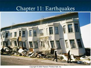Chapter 11: Earthquakes