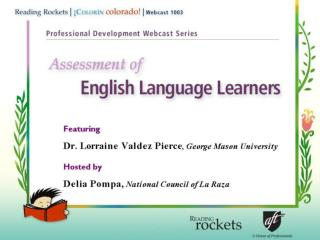 Characteristics of  English Language Learners (ELLs)