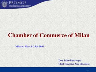 Chamber of Commerce of Milan