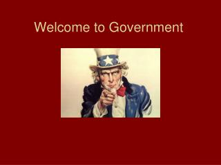 Welcome to Government