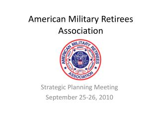 American Military Retirees Association