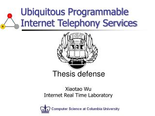 Ubiquitous Programmable Internet Telephony Services