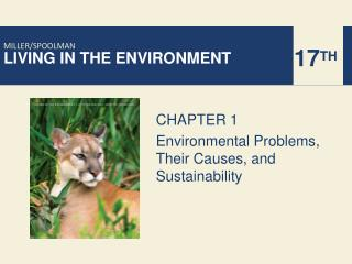 CHAPTER 1 Environmental Problems, Their Causes, and Sustainability