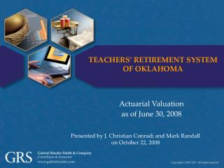 Actuarial Valuation as of June 30, 2008