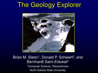 The Geology Explorer