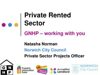 Private Rented Sector  GNHP   working with you