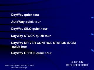 DayWay quick tour