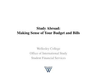 Study Abroad: Making Sense of Your Budget and Bills