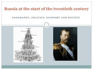 Russia at the start of the twentieth century