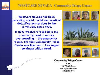 WESTCARE NEVADA   Community Triage Center