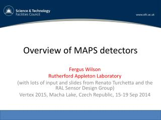 Overview of MAPS detectors
