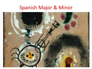 Spanish Major & Minor