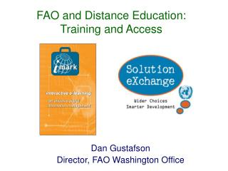 FAO and Distance Education: Training and Access
