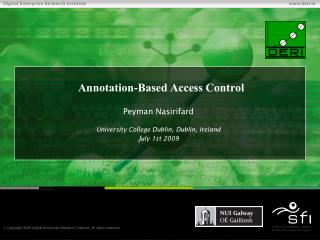 Annotation-Based Access Control