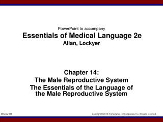 PowerPoint to accompany Essentials of Medical Language 2e Allan, Lockyer