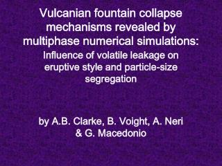 Vulcanian fountain collapse mechanisms revealed by multiphase numerical simulations:
