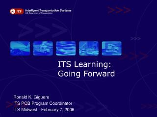 ITS Learning:  Going Forward