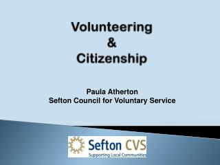 Volunteering  &  Citizenship