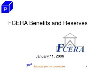 FCERA Benefits and Reserves