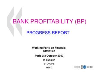 BANK PROFITABILITY BP