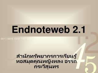 Endnoteweb 2.1
