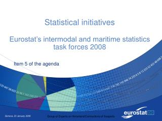 Statistical initiatives  Eurostat's intermodal and maritime statistics task forces 2008