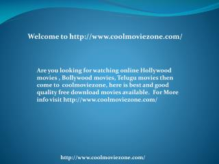 Watching Online Bollywood Movies