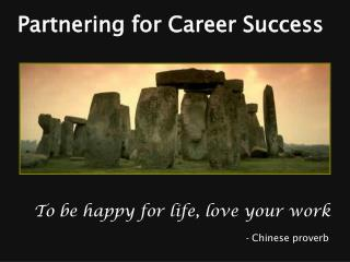 Partnering for Career Success