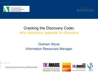 Cracking the Discovery Code :  why  discovery appeals to  librarians