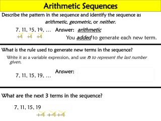 Describe the pattern in the sequence and identify the sequence as