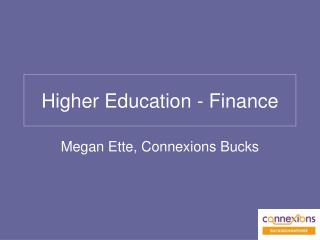 Higher Education - Finance