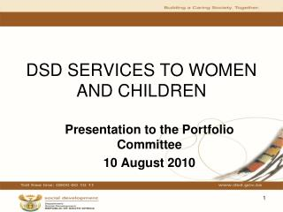 DSD SERVICES TO WOMEN AND CHILDREN