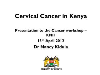 Cervical Cancer in Kenya