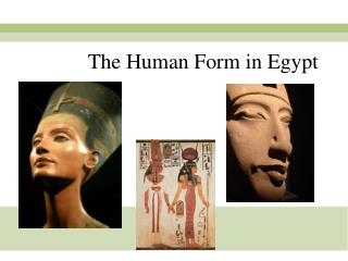 The Human Form in Egypt