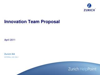 Innovation Team Proposal