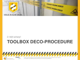 toolbox  deco-procedure