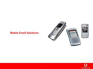Mobile Email Solutions